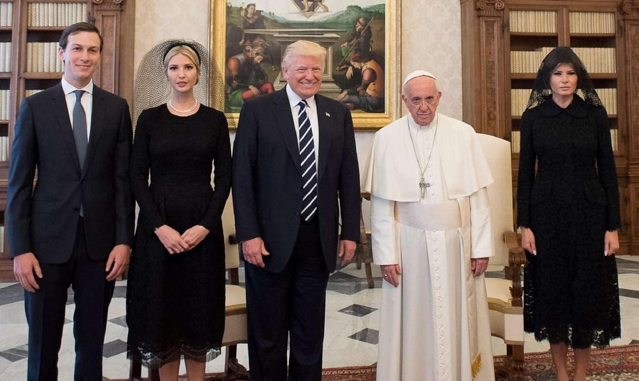 «Γίνε ειρηνοποιός», το μήνυμα του Πάπα Φραγκίσκου στον Nτ. Τραμπ